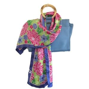 Lilly Pulitzer Ford Breast Cancer Awareness Scarf